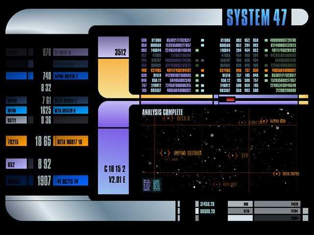 Star Trek Control Panel Computer