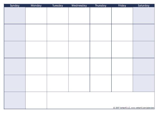 カレンダー カレンダー 書き込み : 書き込み可能でシンプル ...