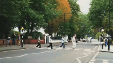YouTube - Blame Ringo - Garble Arch (A Day in the Life of Abbey Road)