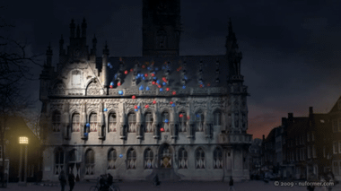YouTube - Projections on buildings