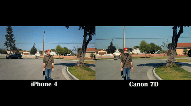 iPhone 4 versus Canon 7D on Vimeo
