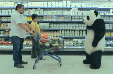 YouTube - PANDA FUNNY ADS - SUPERMARKET  ????? ????? ??????? ?????