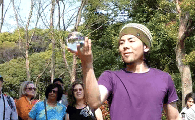 YouTube - Japanese Street Performer (Contact Juggling)
