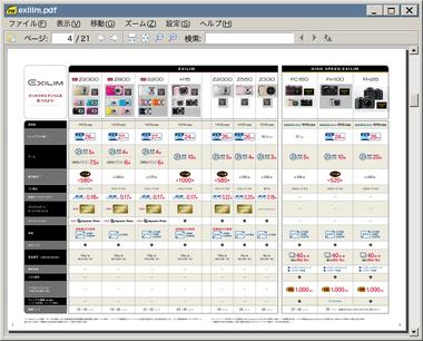 sumatra pdf 表示 見返し表示 ブックビュー
