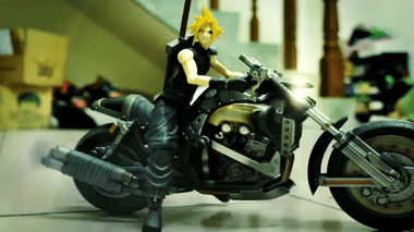 YouTube - Final Fantasy Stop motion- Sephiroth the World's Enemy 世界毀滅者