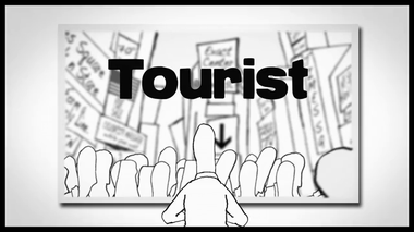 Tourist on Vimeo