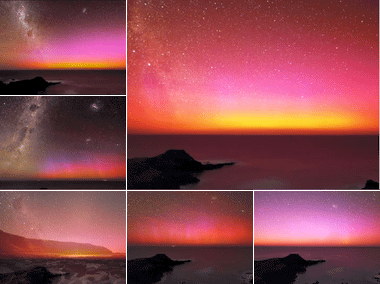 Red Aurora Australis on Vimeo