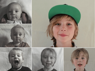 Vince Time Lapse: Birth to 9 years in 2 min. on Vimeo
