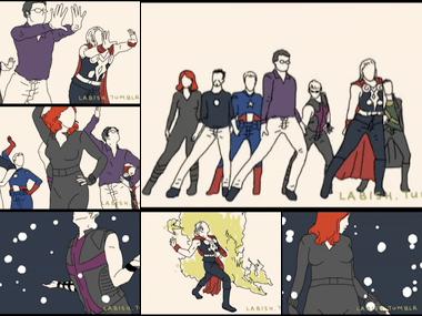 Bad Romance x Avengers on Vimeo