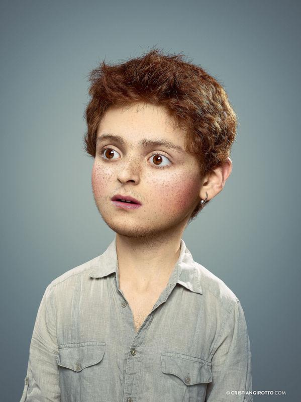 画像拡大 大人みたいな子供か子供みたいな大人か分からない奇妙な肖像 - K'conf