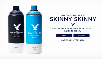 限りなく素肌に近いフィット感が特徴の画期的なジーンズ『Skinny Skinny』