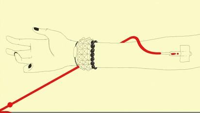 YouTubeのプログレスバーを伝って血液が運ばれるクリエイティブな献血のCM