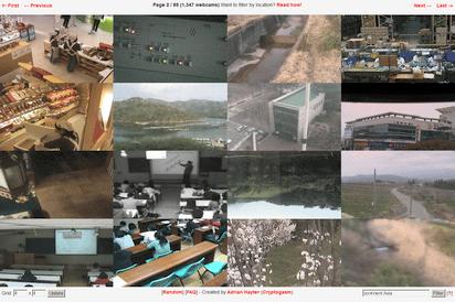 世界のリアルタイムなウェブカム映像を一遍に閲覧できる『Exposed Webcam Viewer』