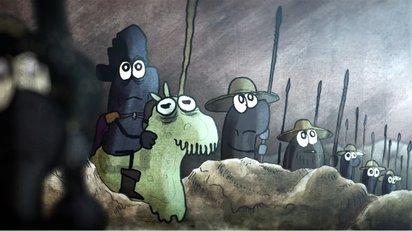 虫歯菌が生き残りをかけて歯医者と戦うドラマチックなショートアニメ
