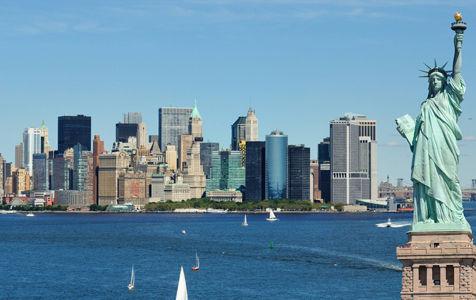 「もしもニューヨークが他の惑星にあったら」をリアルに描いたイラスト