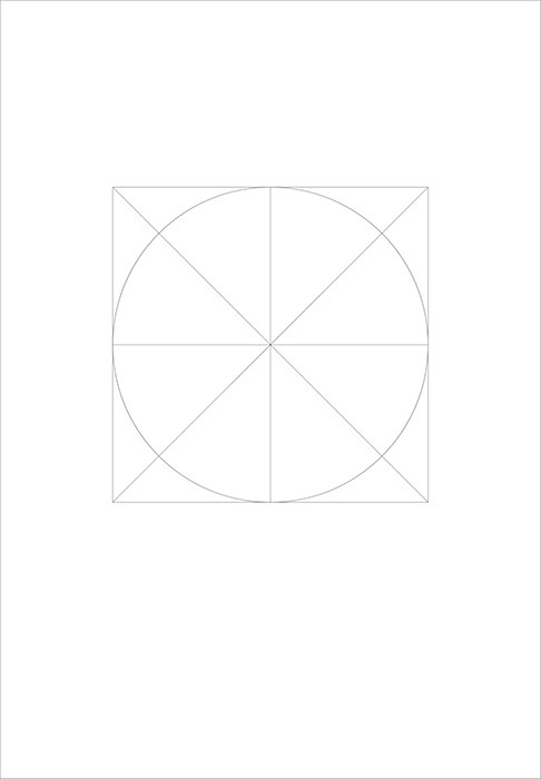 定型化したシンプルな線のみで表現されたミニマルな映画のポスターアート