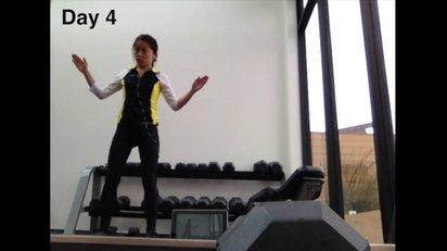 1人の女性が1年をかけてプロ級のダンスを習得する様子を追った映像作品