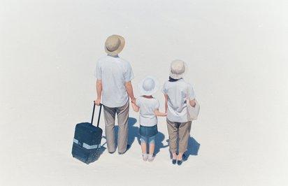 家族と旅と3Dフィギュアをテーマにした無印良品のロードムービー『地球の背中。』