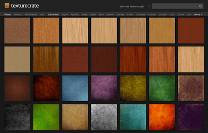 多くの高解像度テクスチャー画像を集めたリソースサイト『Texturecrate』