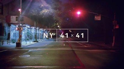 無限ズームに吸い込まれるようなクリエイティブな映像作品『NY 41x41』