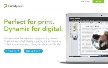 オンラインで共同制作が可能なInDesignの代替アプリ『Lucidpress』