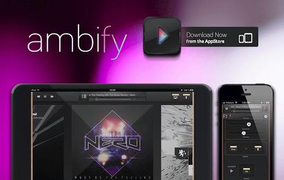 """音楽に合わせて照明をコントロールする""""Philips hue""""の関連アプリ『Ambify』"""