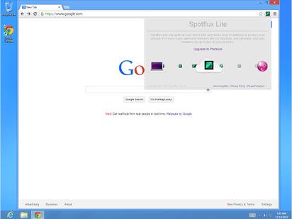 クリック一つでVPN接続が可能なChrome拡張『Spotflux Safe Browsing』