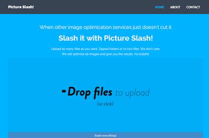 一括処理で大量画像のファイルサイズ縮小ができる『Picture Slash!』