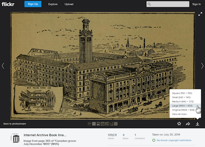 インターネット・アーカイブ保有の歴史的画像がFlickrで公開される