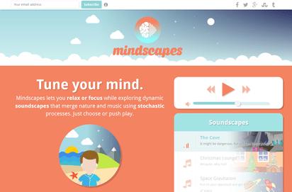 リラクゼーションと集中力アップに最適なサウンドジェネレーター『Mindscapes』